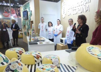 degustaciones y presentaciones de productos de los destinos turisticos