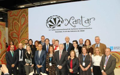 Xantar is presented at FITUR as the only accredited international gastronomic tourism fair in the Iberian Peninsula