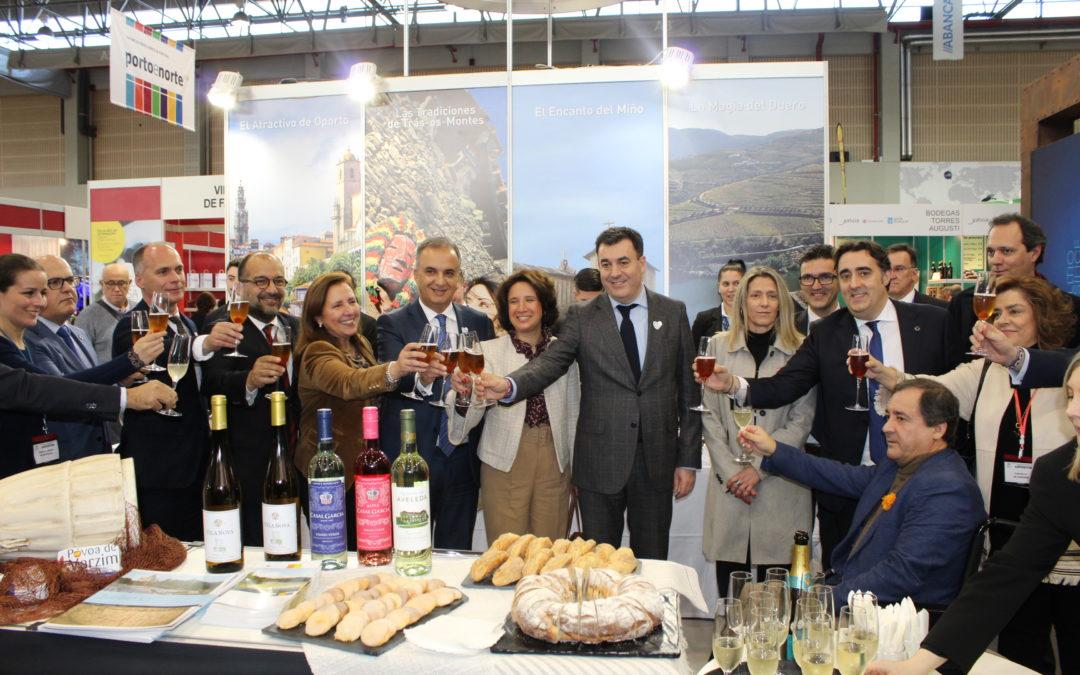Galicia y el Norte de Portugal se unen en Xantar para promocionarse como un único destino enogastronómico