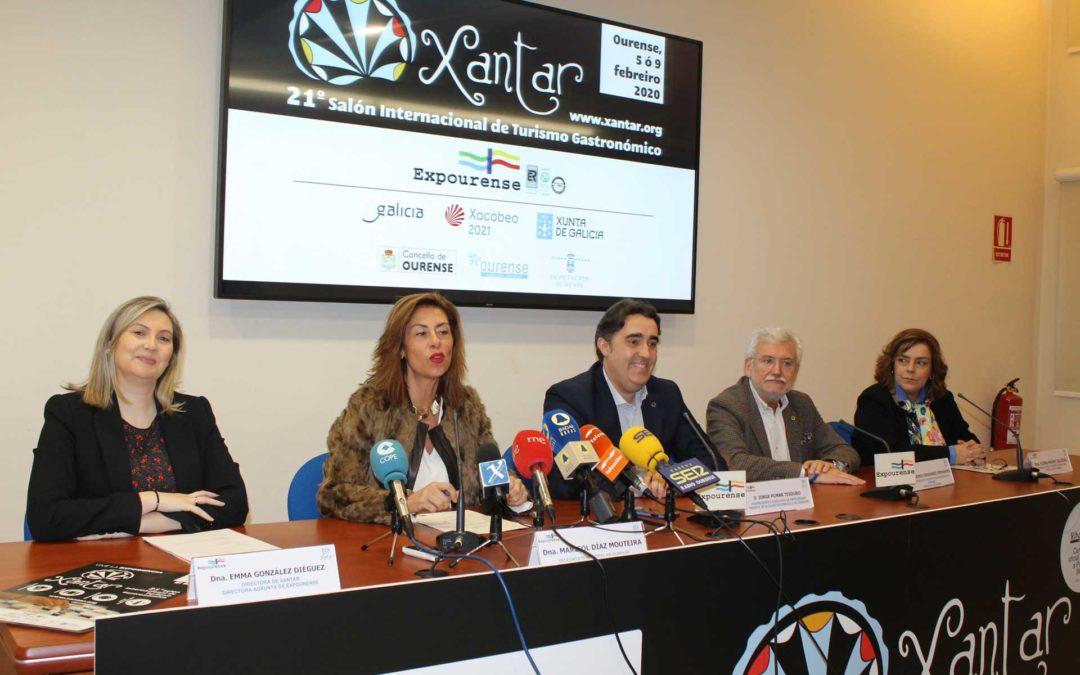 Presentación de la feria de gastronomia y turismo Xantar 2020