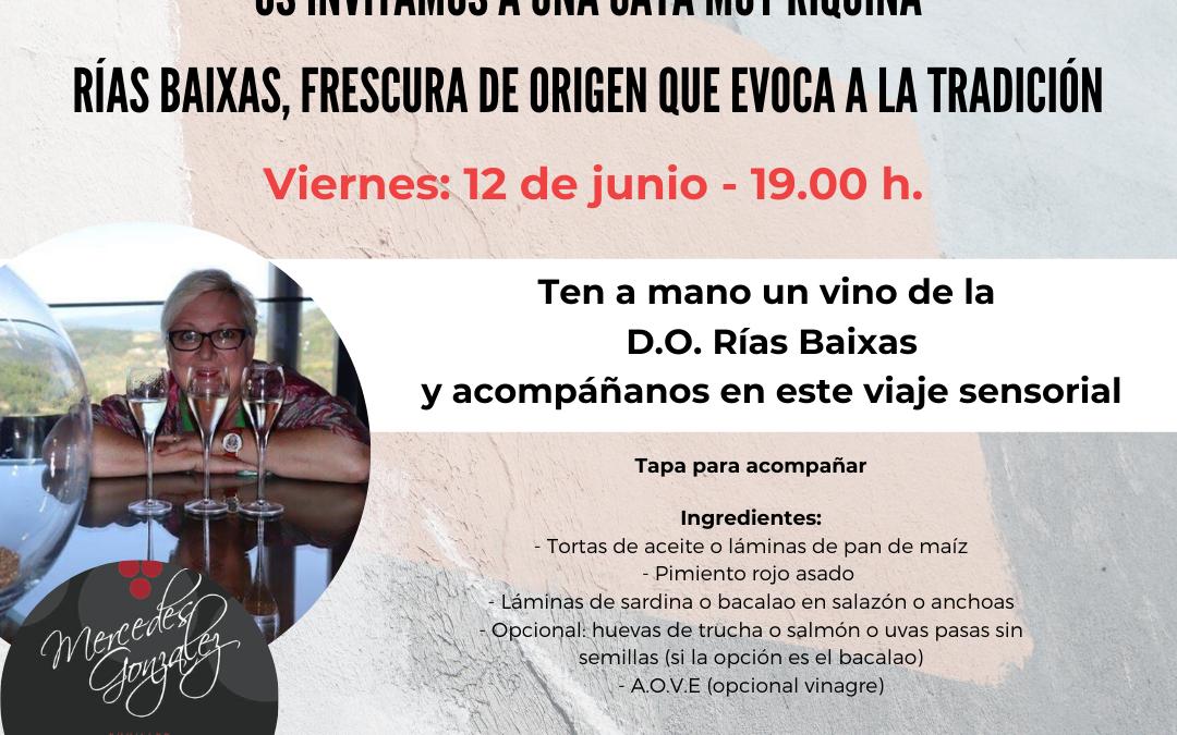 Información sobre el taller de cocina y la cata on line de Xantar de esta semana (10 y 12 de junio)