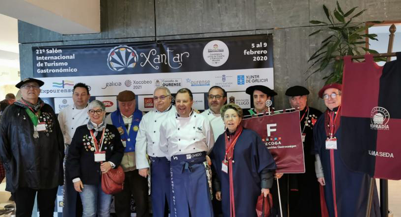 Xantar estrecha su cooperación con la Federación de Cofradías Gastronómicas – FECOGA